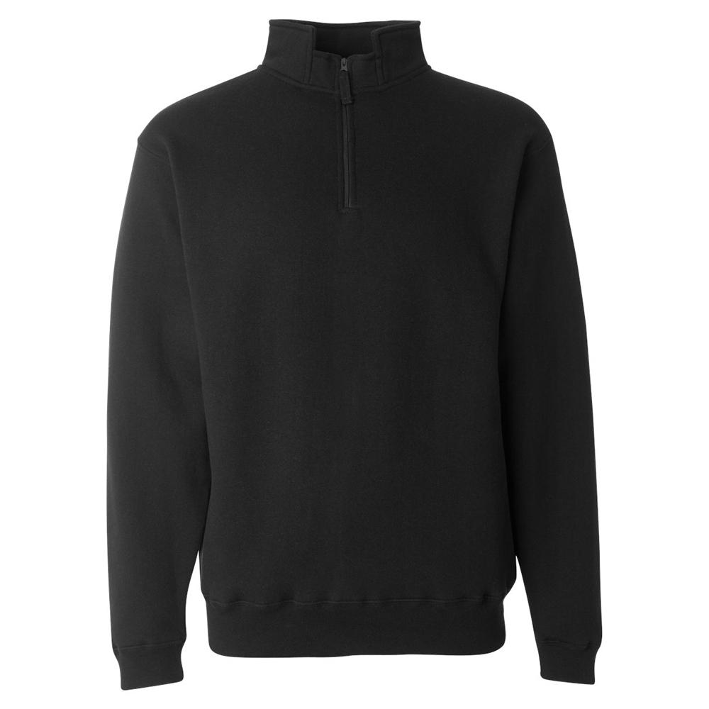 NEW J America Heavyweight 1//4 Zip Pullover Sweatshirt Fleece Men/'s M,L,XL 8634